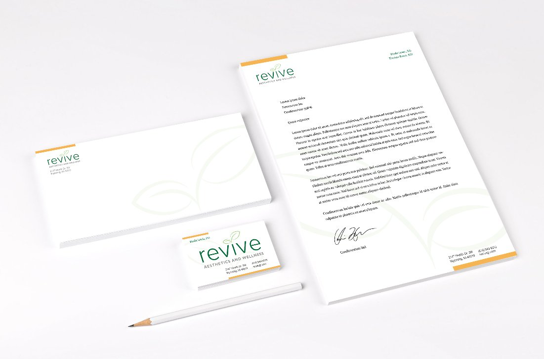 Revive Palstic Surgery Stationery Package